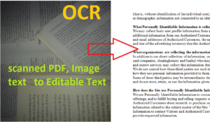 How To Convert PDF To Word Editable Text Online Free  – OCR